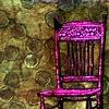 Ink Drip Chair