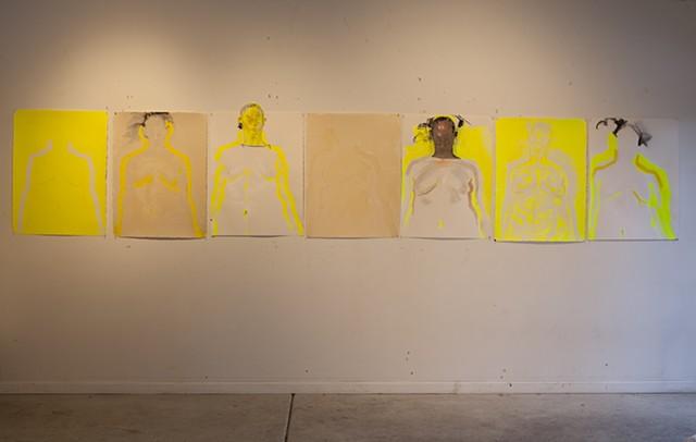 studio, east wall, 3/17/14