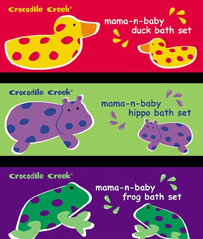 Crocodile Creek  Bath Toys