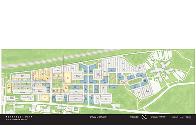 Northwest Park Site Plan