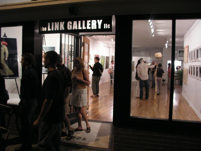 Inside the Link Gallery 1