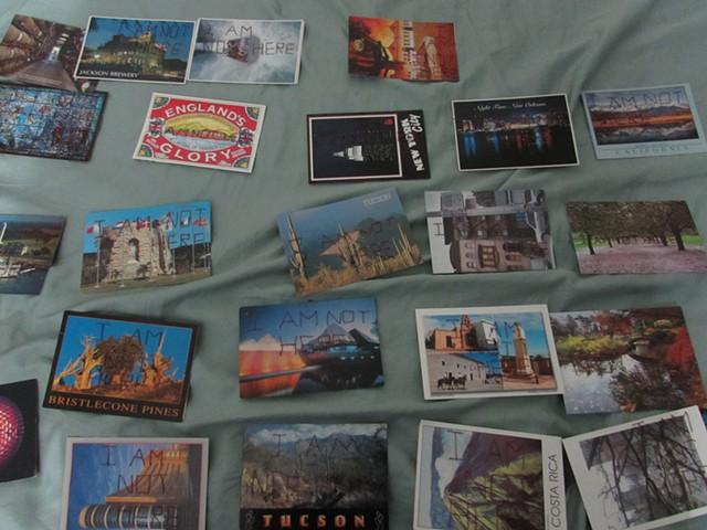 Not-a-Blogs, Postcard Art, Mail Art
