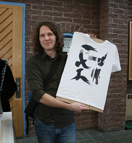 John Bodnar with Jason Wells  t-shirt