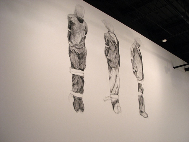 Installation view of III. Lewis, David, George