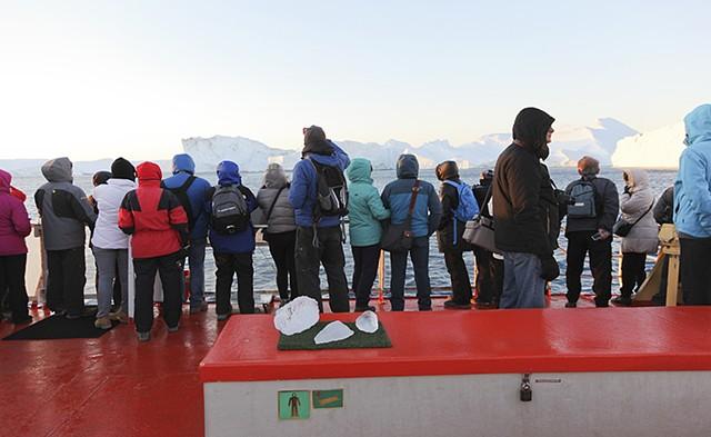 Glacier Viewing Boat Trip, Ilulissat GL