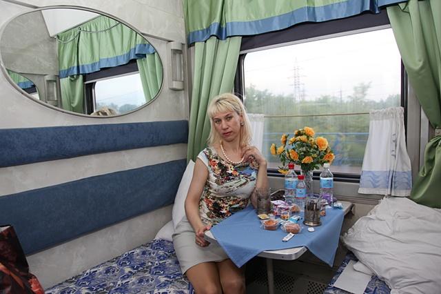 On the Trans-Siberian Railroad near Khabarovsk