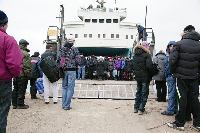Passenger Ferry, Russkiy Island