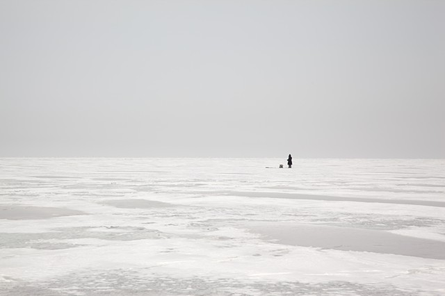 Ice Fishing, Amurskiy Bay