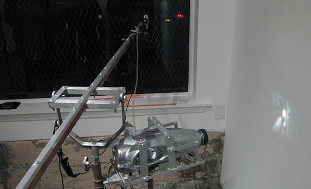 Mark Porter kinetic sculpture, kinetic sculpture, Mark Porter, performative sculpture, found objects, chicago, machine, kinetic mechanical sculpture