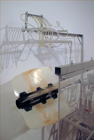 Mark Porter, kinetic sculpture, drawing machine