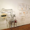 Installation view of Replication Machines, Territorial Markers and Preliminary Drawings, Spoke, Chicago, 2010