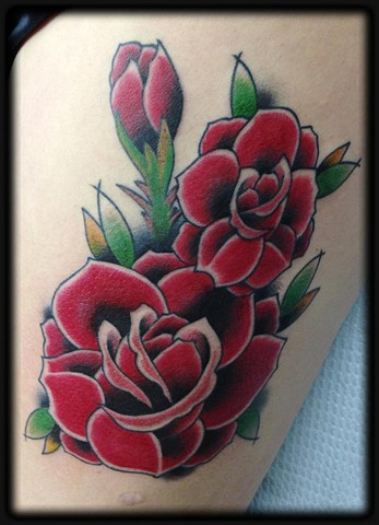 Tattoo by Chris Lawrence