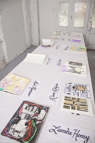 Tag & Repeat X2 Student Artists Books  (a student studio project)