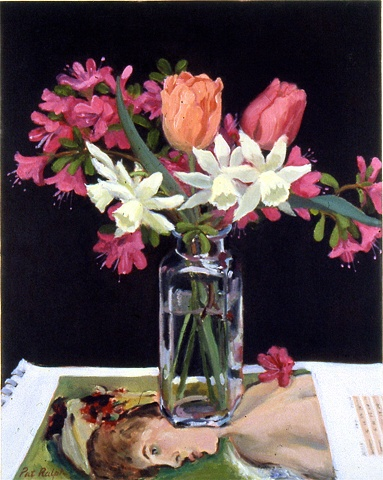 Axaleas, Tulips and Narcissus