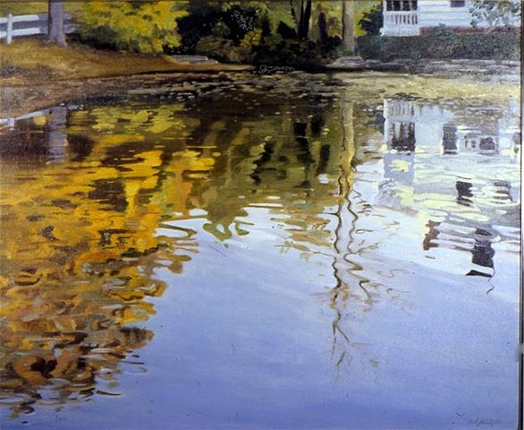 Mill Pond: Autumn Afternoon