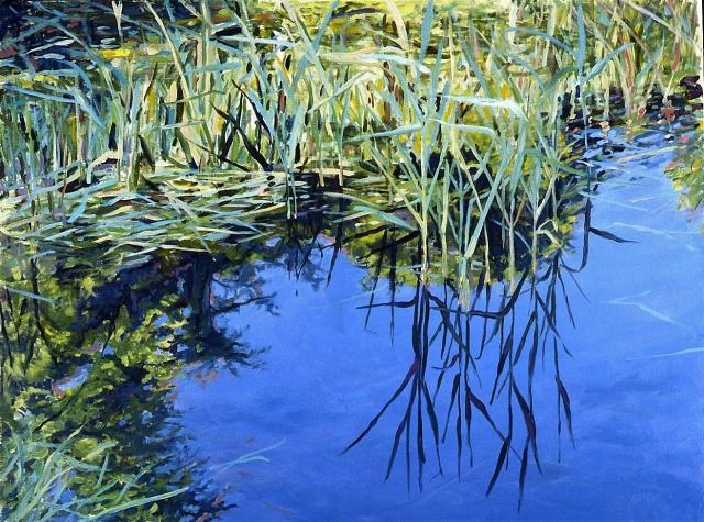 Reeds and Sky