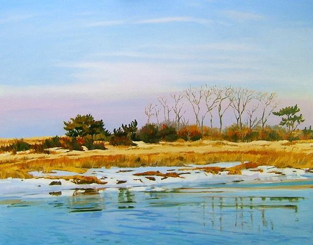 Sunken Meadow Dunes: Winter