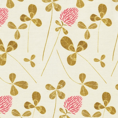 Field Clover Fabric