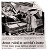 David Boyle, Arson article