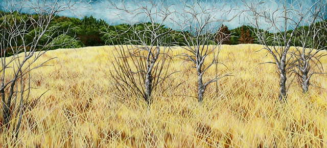 Bandera Texas, oil painting