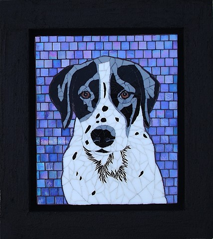 Moses Mosaic Dog Portrait