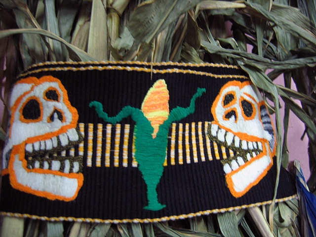 Contaminated Faja, Posada Skulls w. Mazorca