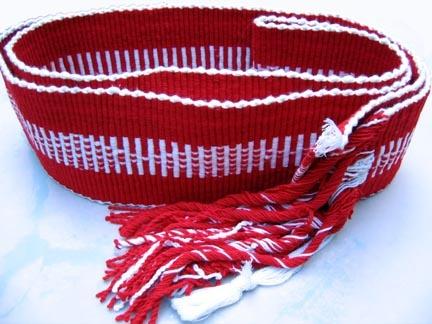Handwoven Faja, Artisan's Collective of Huehuetla