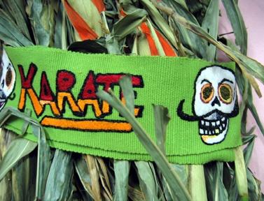 Karate Faja w/ Posada Style Skulls