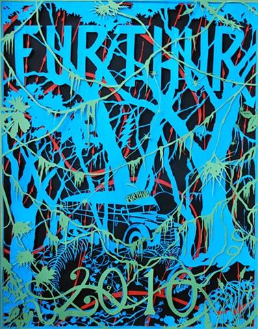Furthur 2010 Original Papercut