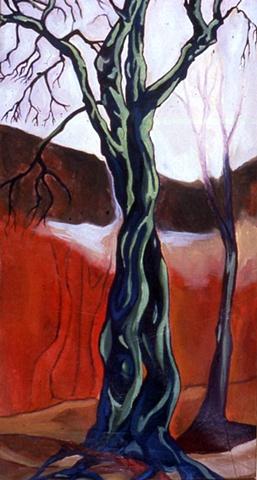 2nd Painting (Bunn's Tree)