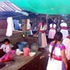 Totanaca Women Cooking for a Community Event
