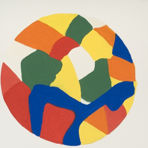 Untitled (Colored Sphere)