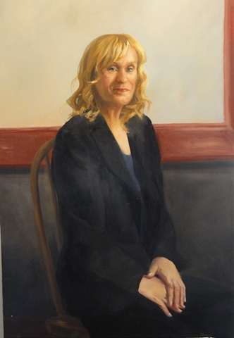 Commissioned portrait of Dr. Sharon Anderson-Gold