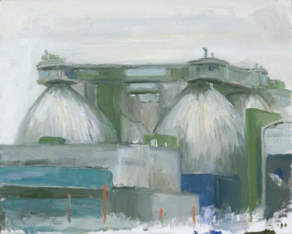 Sewage treatment plant, Greenpoint, Brooklyn