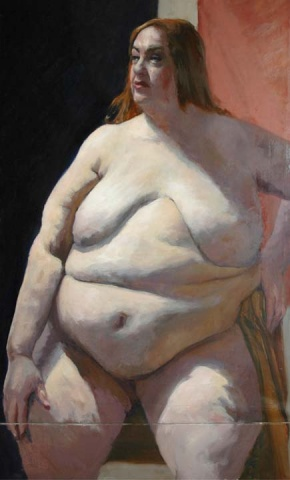 Painting Aviva, Thinking About Kieslowski