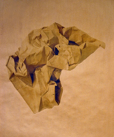 Untitled III (Paper Bag series)