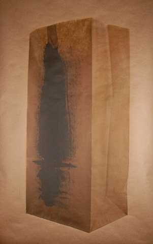 Untitled I (Paper Bag Series)