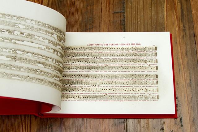 America: A Hymnal (interior)