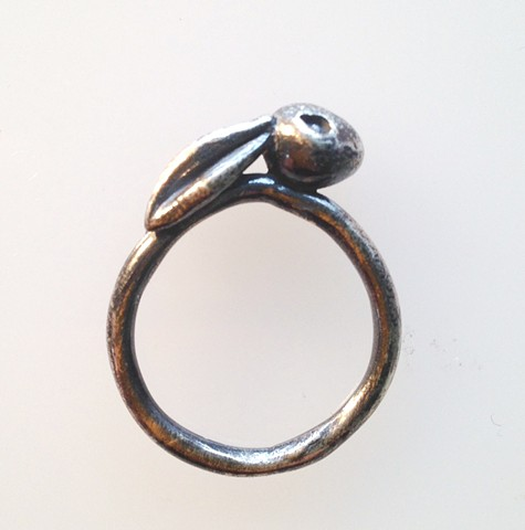 Sterling Rabbit Ring