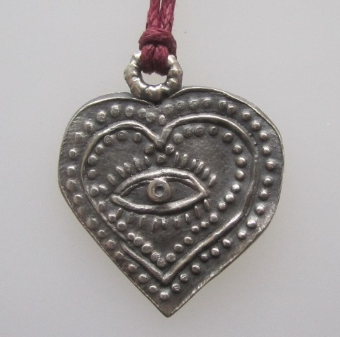Heart Milagro with Eye