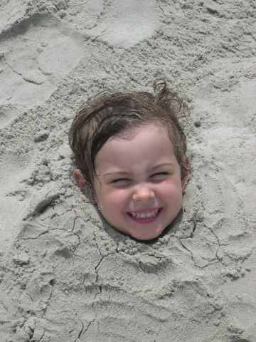 Evvy in the Sand