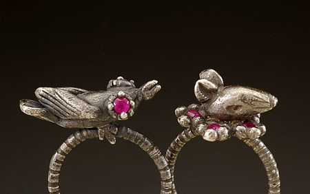 Sparrow and Rat Rings