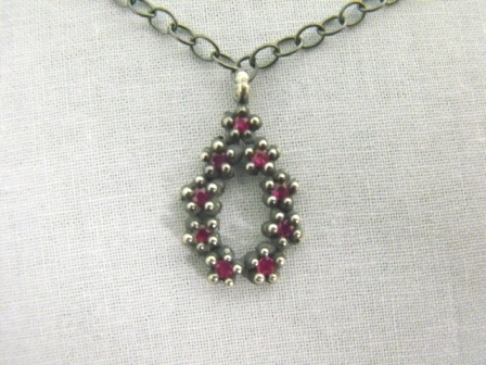 Chain of Flowers Pendant