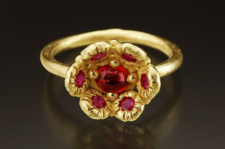Low Blossom Ring