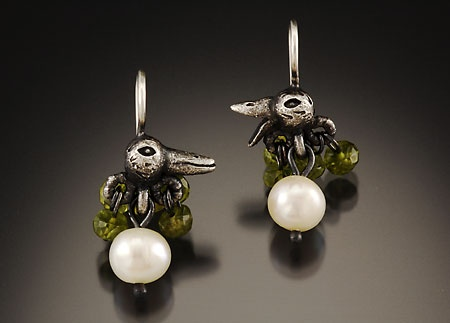 Bird Conversation Earrings