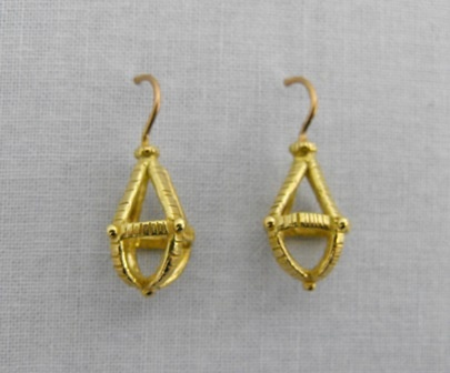 Cage Droplet Earrings
