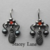 Beaver Tail Trembling Earrings