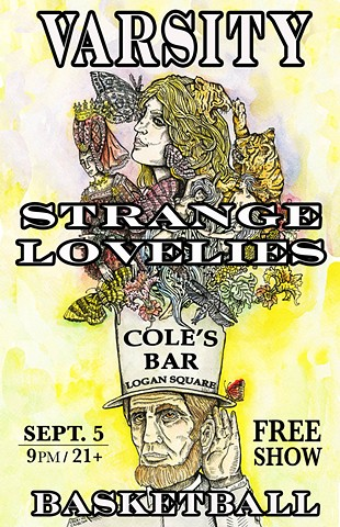 Cole's Bar Strange Lovelies Poster