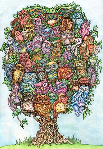 Almost Sixty Owls