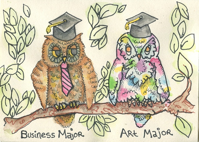 Graduation Card for an Artist